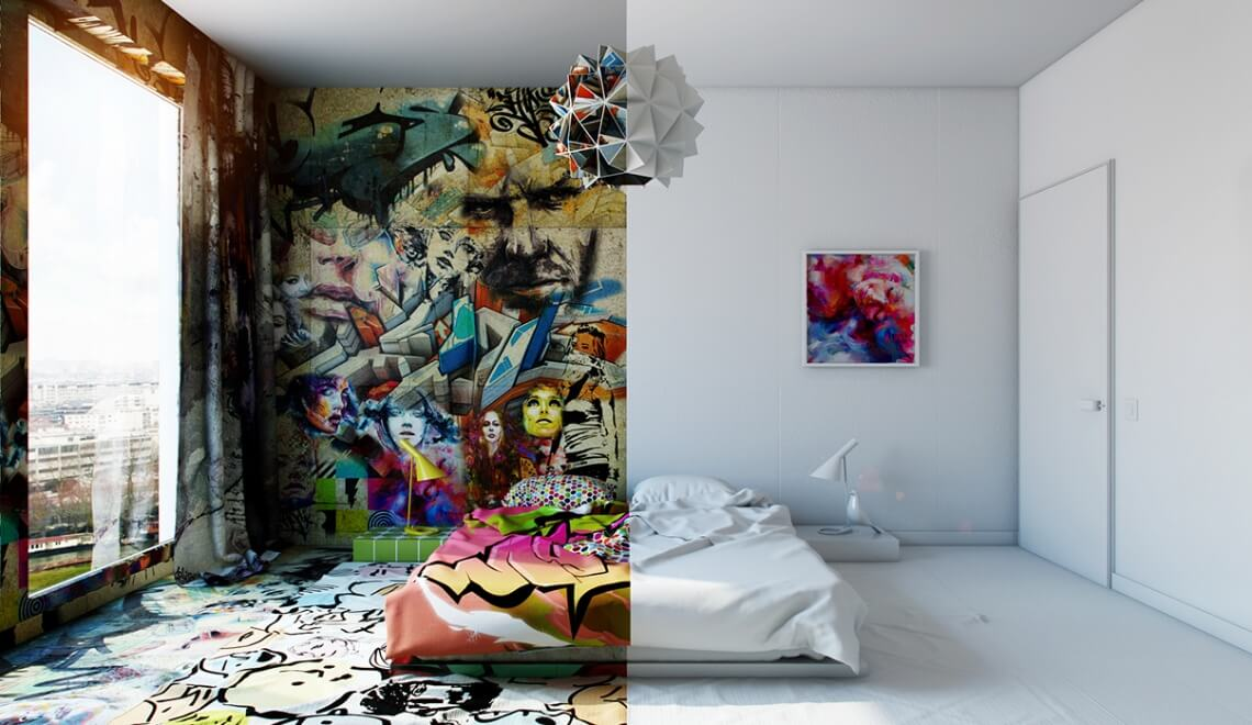 idee-deco-chambre-ado-streetart